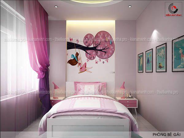 Nội thất phòng ngủ con