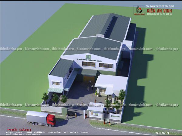 thiết kế nhà xưởng sản xuất thủ công
