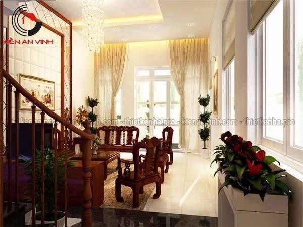 Mẫu thiết kế nội thất phòng khách