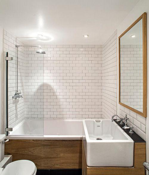 Chiêu hay xử lý phòng tắm nhỏ , méo mó 4