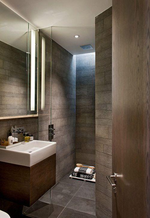 Chiêu hay xử lý phòng tắm nhỏ , méo mó 6