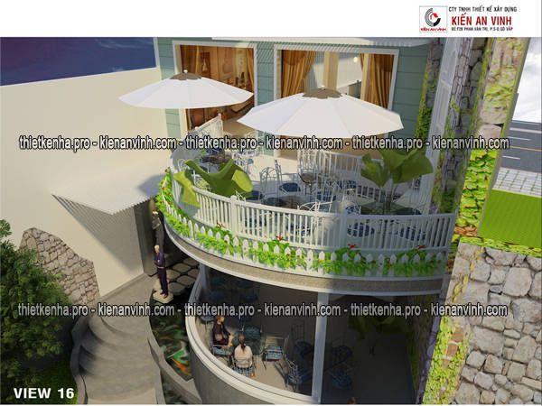 thiết kế cải tạo quán cafe