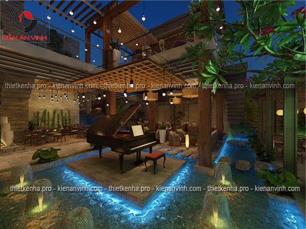 Mẫu thiết kế quán cafe