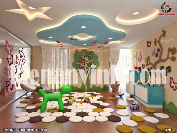 nội thất phòng chơi trẻ em