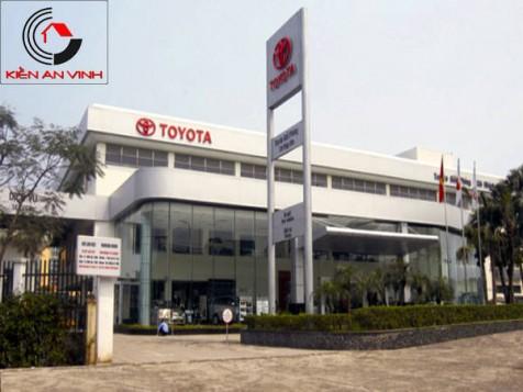 Thiết kế showroom Toyota