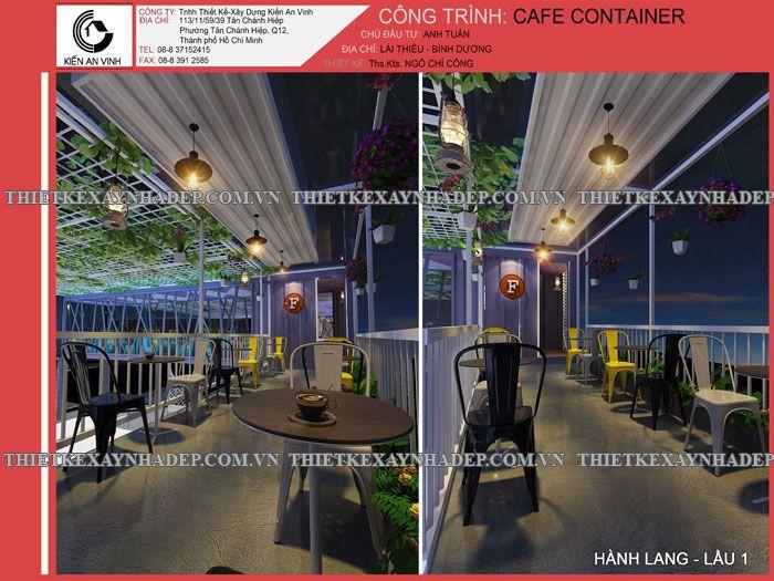 Top 30 mẫu thiết kế quán cafe đẹp 15