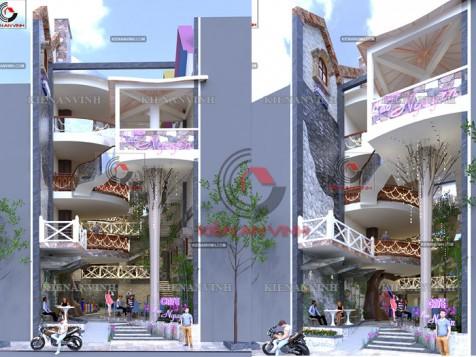Thiết kế quán cafe đẹp hiện đại Tân Phú