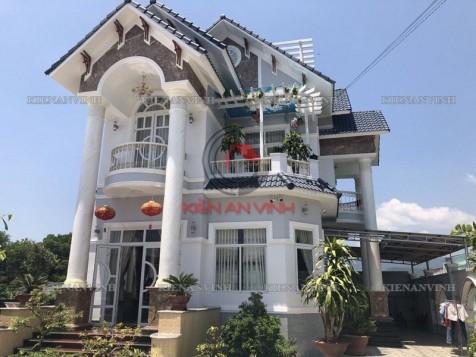 Thi công biệt thự nhà vườn 2 tầng đẹp 2018