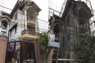 Công trình thi công biệt thự đẹp 3 tầng tại Bình Chánh
