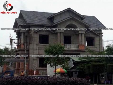 Thi công xây dựng biệt thự 2 tầng đẹp tại Đồng Nai