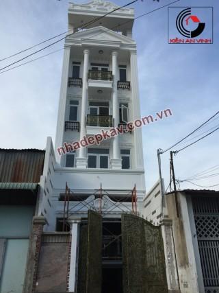 Công trình xây dựng nhà phố bán cổ điển CTY Kiến An Vinh