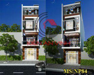 Mẫu nhà phố 3 tầng hiện đại đẹp tại Vũng Tàu 2017