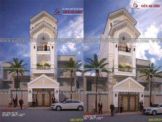 Thiết kế xây dựng nhà phố 3 tầng cực đẹp cho năm 2017